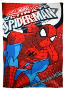 Spiderman 'Swing' Panel Fleece Blanket Throw