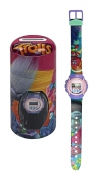 Trolls Girls 'Digital Metal Tin Gift' Wrist Watch