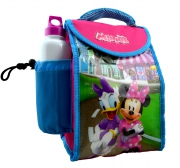 Disney Minnie Mouse 'Friends' School Lunch Bag with Bottle