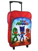 Disney Pj Masks 'Ready For Action' School Travel Trolley Roller Wheeled Bag