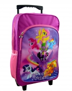 My Little Pony 'Friendship' School Travel Trolley Roller Wheeled Bag