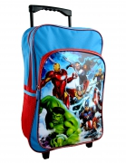Avengers 'Force' Trolley Backpack School Travel Roller Wheeled Bag