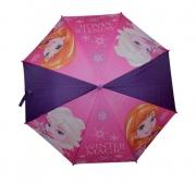 Disney Frozen 'Purple' Full Panel Automatic School Rain Brolly Umbrella