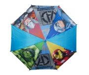 Avengers Boys 'Blue' Full Panel Automatic School Rain Brolly Umbrella