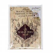 Harry Potter Marauders Map A5 Notebook Stationery