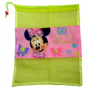 Disney Minnie Mouse Pull String School Mesh Bag
