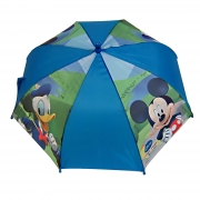 Disney Mickey Mouse Blue School Rain Brolly Umbrella