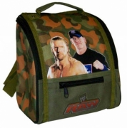 WWE 'Raw Deluxe' School Premium Lunch Bag Insulated