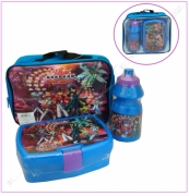 Bakugan New Vestroia School Lunch Bag Kit