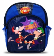 Phineas and Ferb School Bag Rucksack Backpack