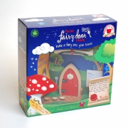 Disney Magical Wooden Red Fairy Door Play Set Toy