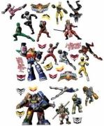 Power Rangers 32 Stickers Wall Sticker Stikaround