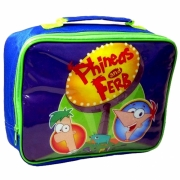 Phineas and Ferb 'Agent' School Rectangle Lunch Bag