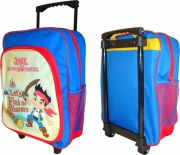 Jake and The Never Land Pirates School Travel Trolley Roller Wheeled Bag
