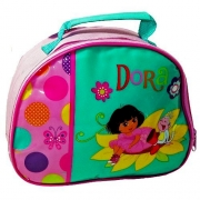 Dora The Explorer 'Flower' School Premium Lunch Bag Insulated