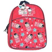 Hello Kitty 'Elvis' Pvc Front School Bag Rucksack Backpack