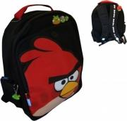 Angry Birds Black School Bag Rucksack Backpack
