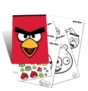 Angry Birds 'Close Up' Activity Pack Stationery
