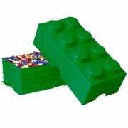 Lego Storage Brick '8 Green' Box