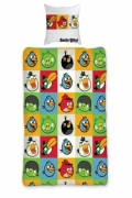 Angry Birds Rotary Single Bed Duvet Quilt Cover Set