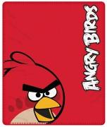Angry Birds Red Panel Fleece Blanket Throw
