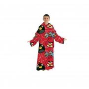 Angry Birds Cosy Wrap Blanket Sleeved Fleece