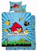 Angry Birds 'Burst' Reversible Panel Single Bed Duvet Quilt Cover Set