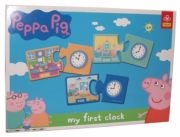 Peppa Pig 'My First Clock' Board Game Puzzle