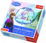 Disney Frozen 'Anna & Elsa' Snakes and Ladders Puzzle