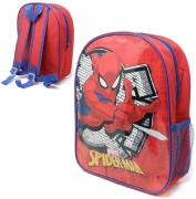 Marvel Spiderman with Mesh Side School Bag Rucksack Backpack
