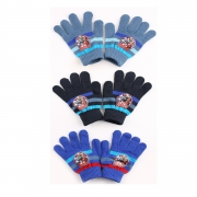 Marvel 'Avengers' Knitted 3 Assorted Gloves One Size Kids Accessories