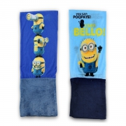 Minions 'Snood' Blue, Navy Assorted Multi Purpose Scarf