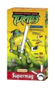 Supermag Teenage Mutant Ninja Turtles 'Leonardo' 12.5 inch Construction Building Figure Toy