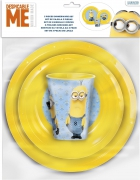 Despicable Me Minion '3 Piece Meal Set' Dinner Set
