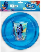 Disney Finding Dory '3 Piece Meal Set' Dinner Set