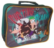 Phineas & Ferb 'Bursting with Plans' School Rectangle Lunch Bag