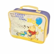 Disney Winnie The Pooh Funny Bear Like Hunny School Rectangle Lunch Bag