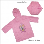 Disney Princess Pink 6 Years Raincoat
