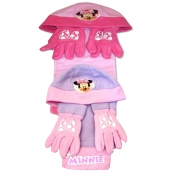 Disney Minnie Mouse 'Miss Minnie' Assorted Hat, Gloves and Scarf Set Kids Accessories