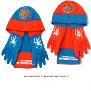 Spiderman 'The Amazing' Assorted Hat, Gloves and Scarf Set Kids Accessories