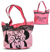 Disney Minnie Mouse 'Pink' Tote Bag Shopping Shopper