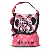 Disney Minnie Mouse Pink Small 'Lapel' School Shoulder Bag