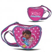 Disney Doc Mcstuffins Pink 'Heart Shaped' School Shoulder Bag
