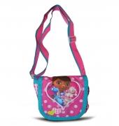 Disney Doc Mcstuffins Pink Small 'Lapel' School Shoulder Bag