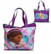 Disney Doc Mcstuffins 'Satin' Tote Bag Shopping Shopper