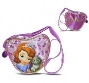 Disney Sofia The First Satin 'Heart Shaped' School Shoulder Bag