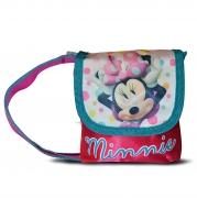 Disney Minnie Mouse Satin Small 'Lapel' School Shoulder Bag