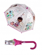 Disney Doc Mcstuffins 'Bubble' School Rain Brolly Umbrella