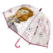 Disney Sofia The First Bubble School Rain Brolly Umbrella