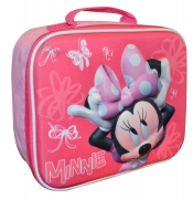Disney Minnie Mouse 3d Eva School Premium Lunch Bag Insulated